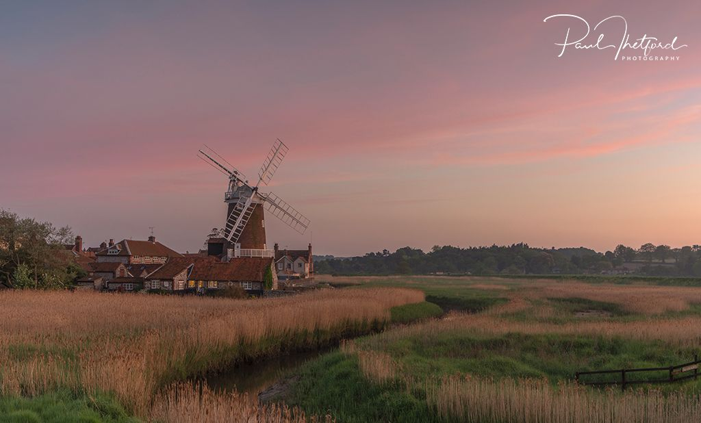 Cley Mill Evening Light 4