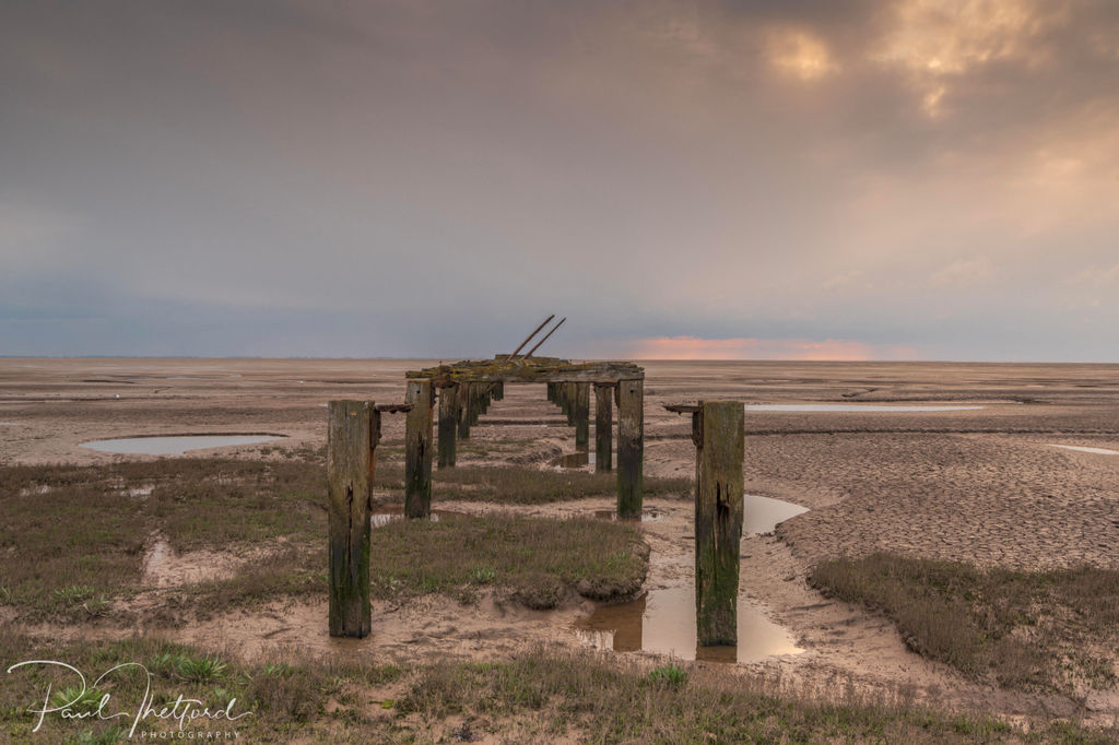 The old jetty, Snettisham