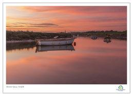 Morston Quay Spring Dawn 2