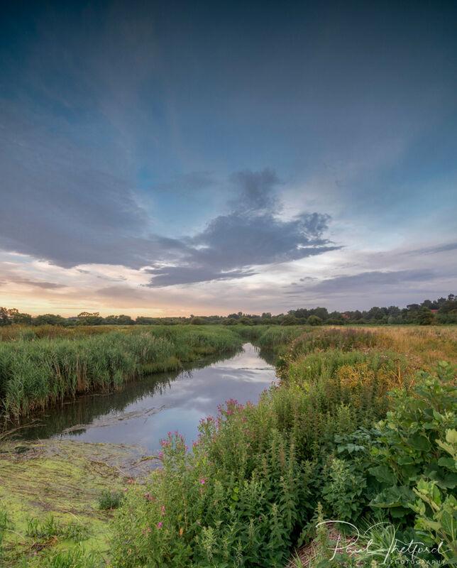 Dawn River Glaven
