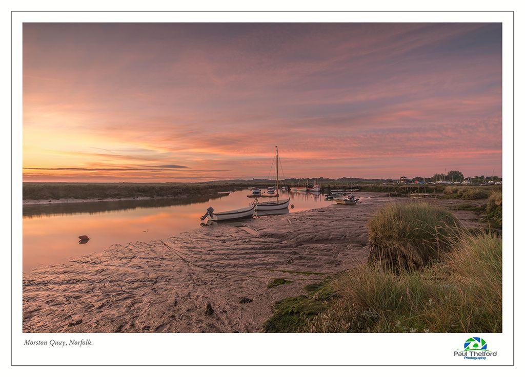 Morston Quay Spring Dawn 3