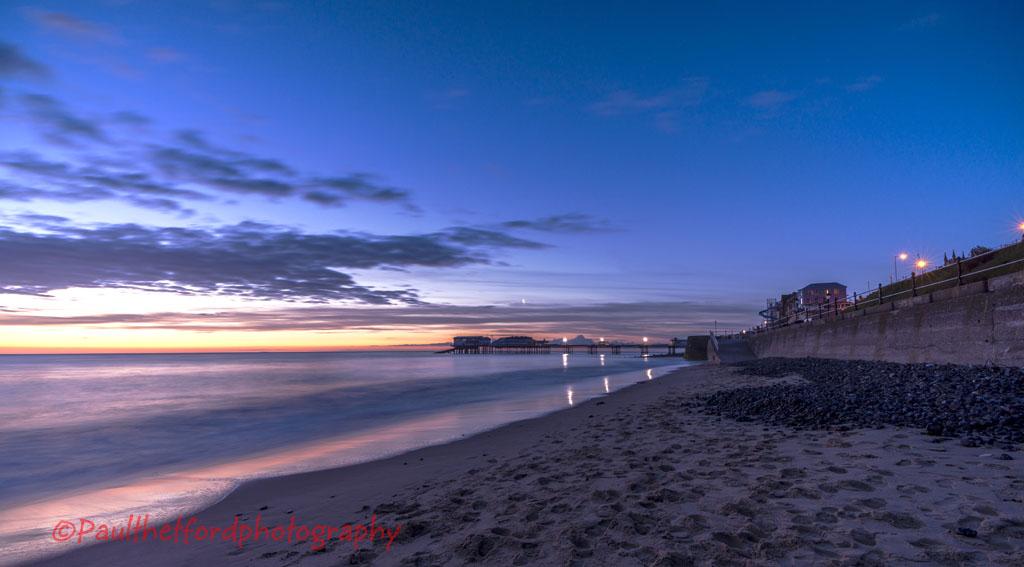 Sunrise over Cromer Pier