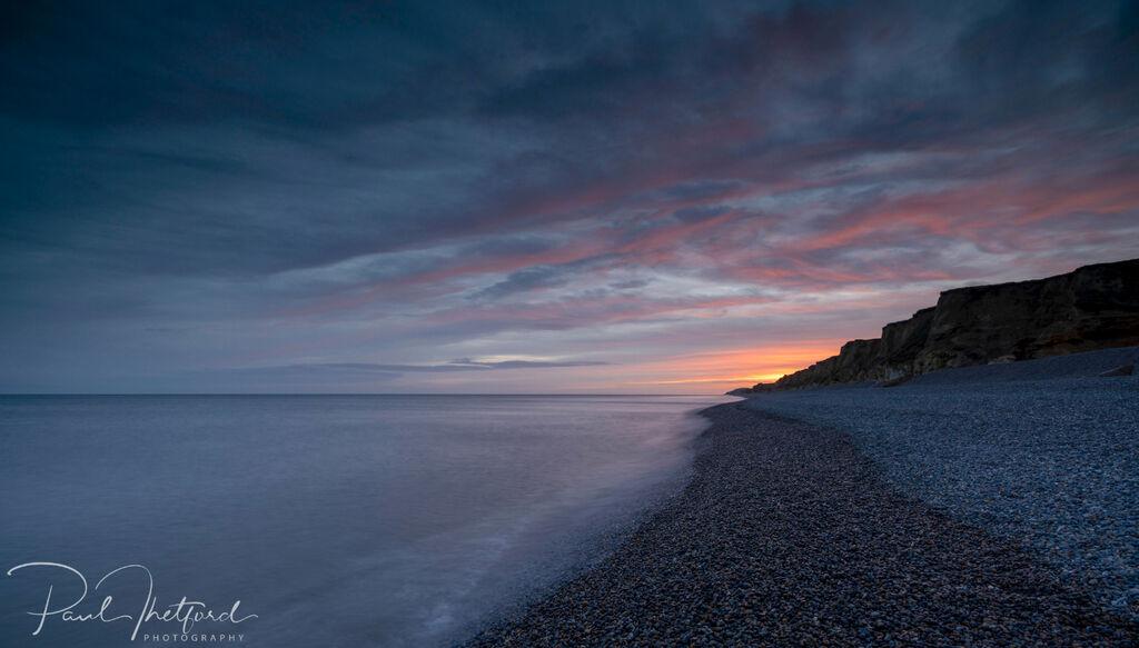 Weybourne Beach dawn 2