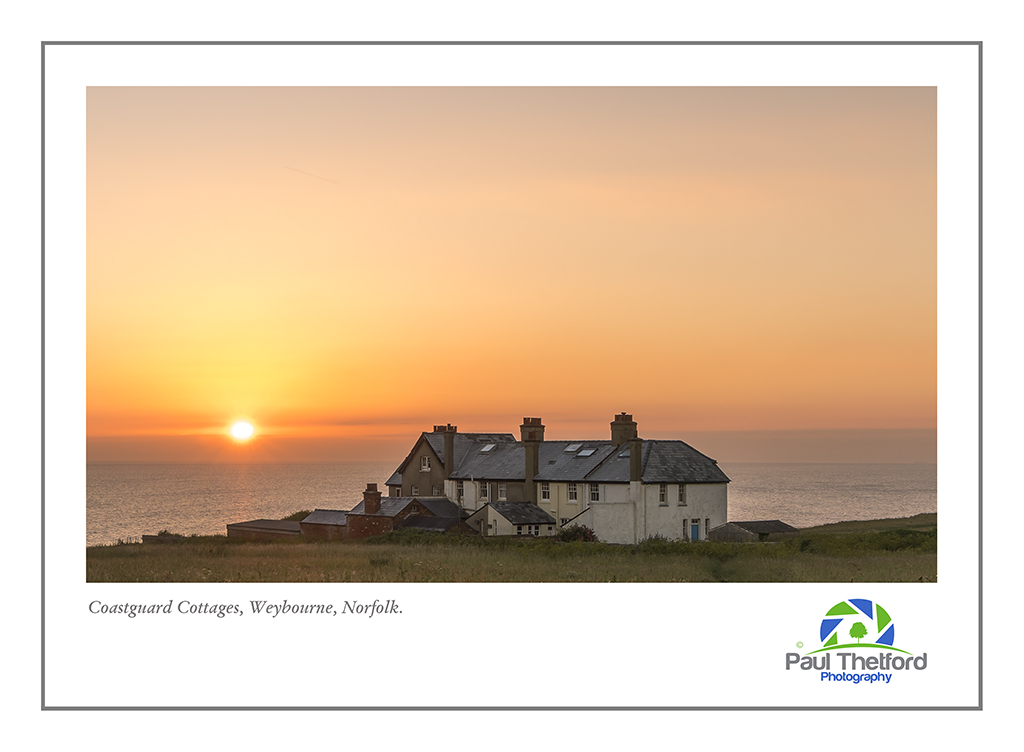 Old Coastguard cottage, Weybourne.sunrise