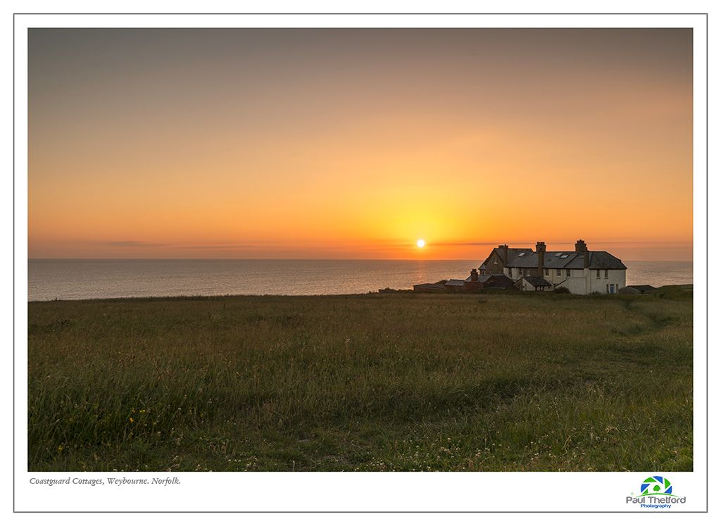 Old Coastguard cottage, Weybourne.sunrise 2