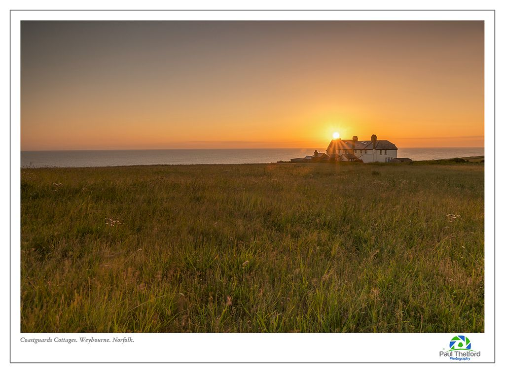 Old Coastguard cottage, Weybourne.sunrise 3