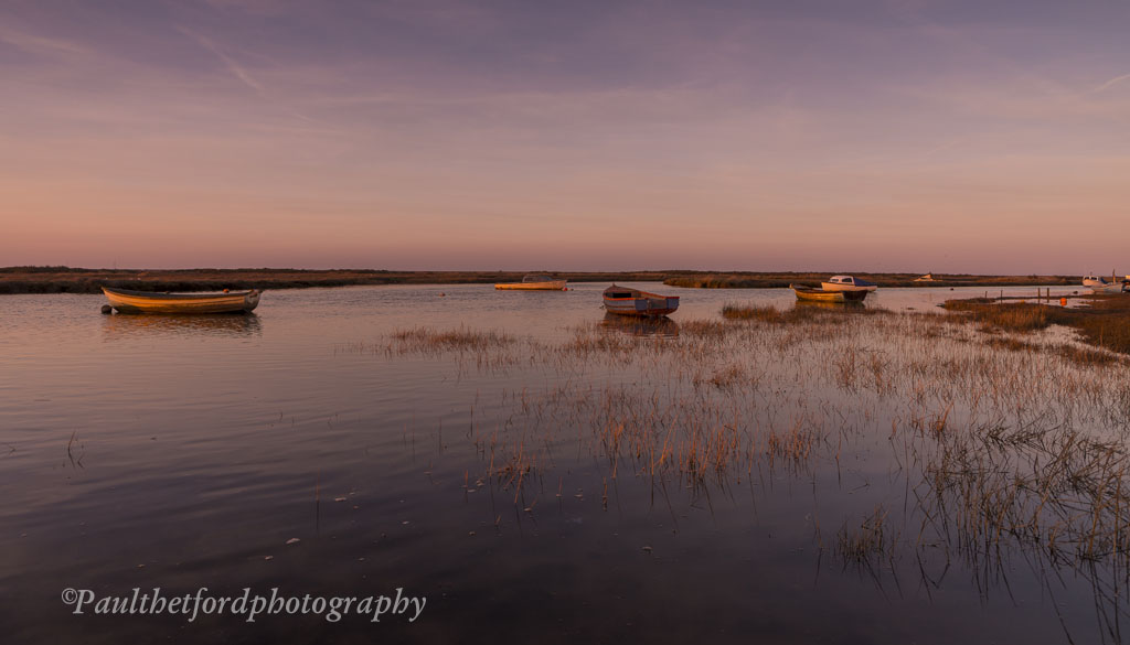 Morston Quay Last Light 2