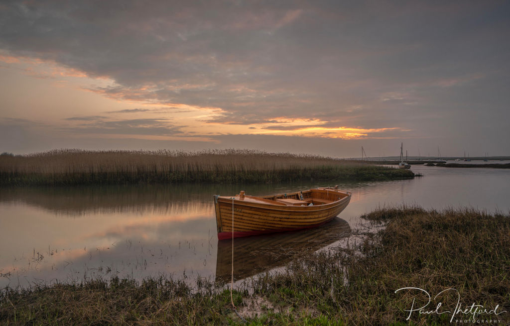 Brancaster Staithe evening light 3