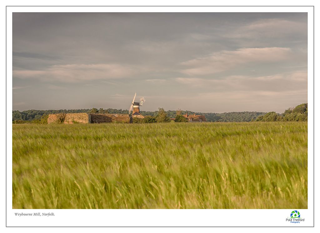 Weybourne Mill, Across the Fields 3