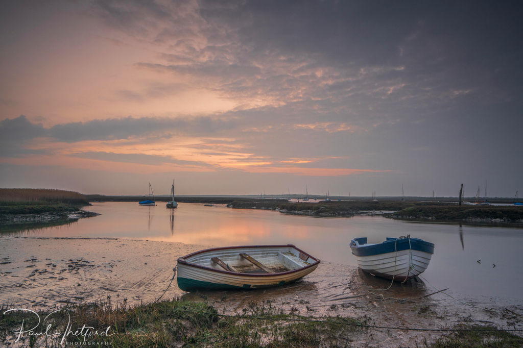 Brancaster Staithe evening light 5