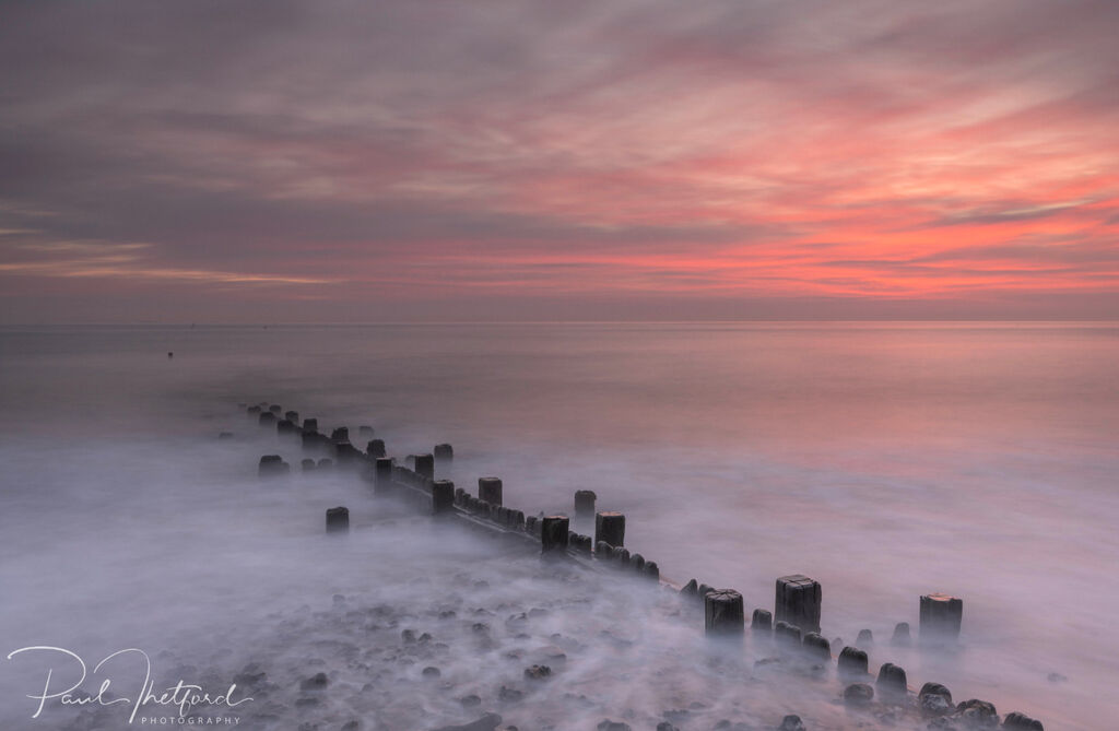 Overstrand Beach at dawn