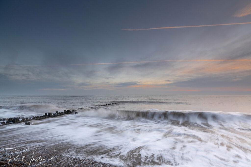 Overstrand Beach at dawn 2