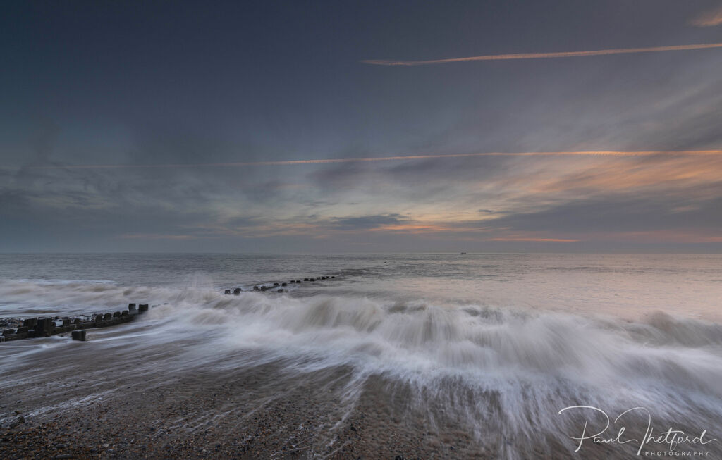Overstrand Beach at dawn 3