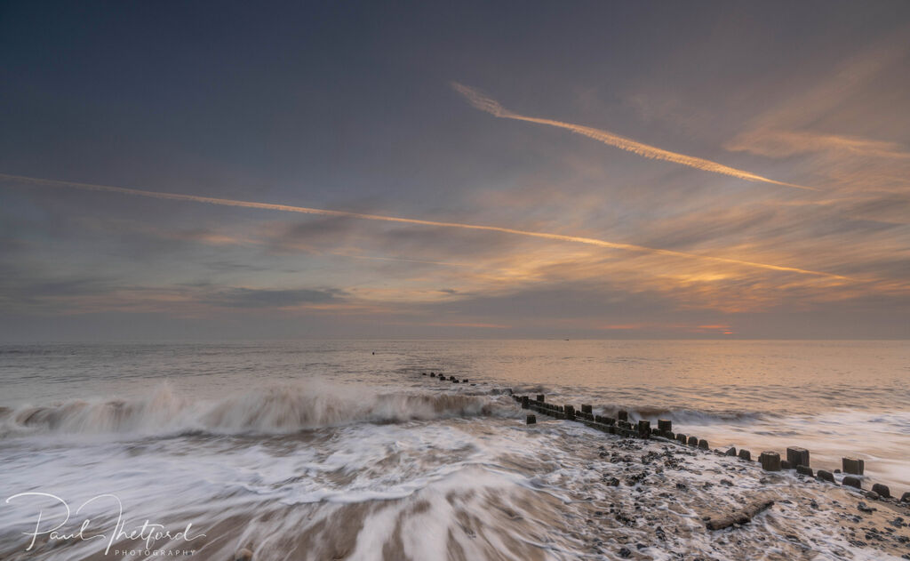 Overstrand Beach at dawn 5