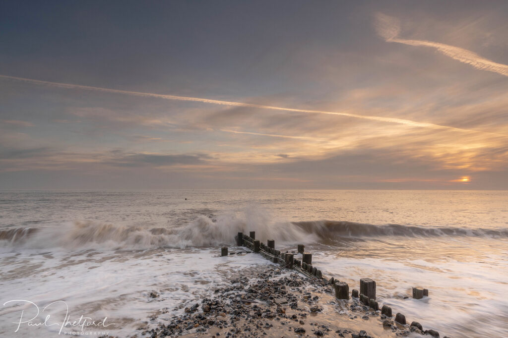 Overstrand Beach at dawn 4