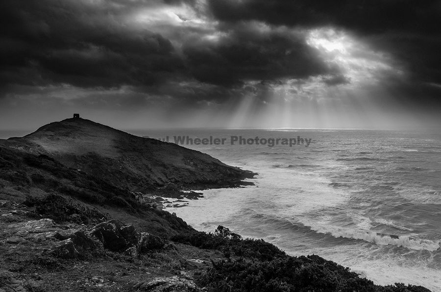 Rame Head in a Storm