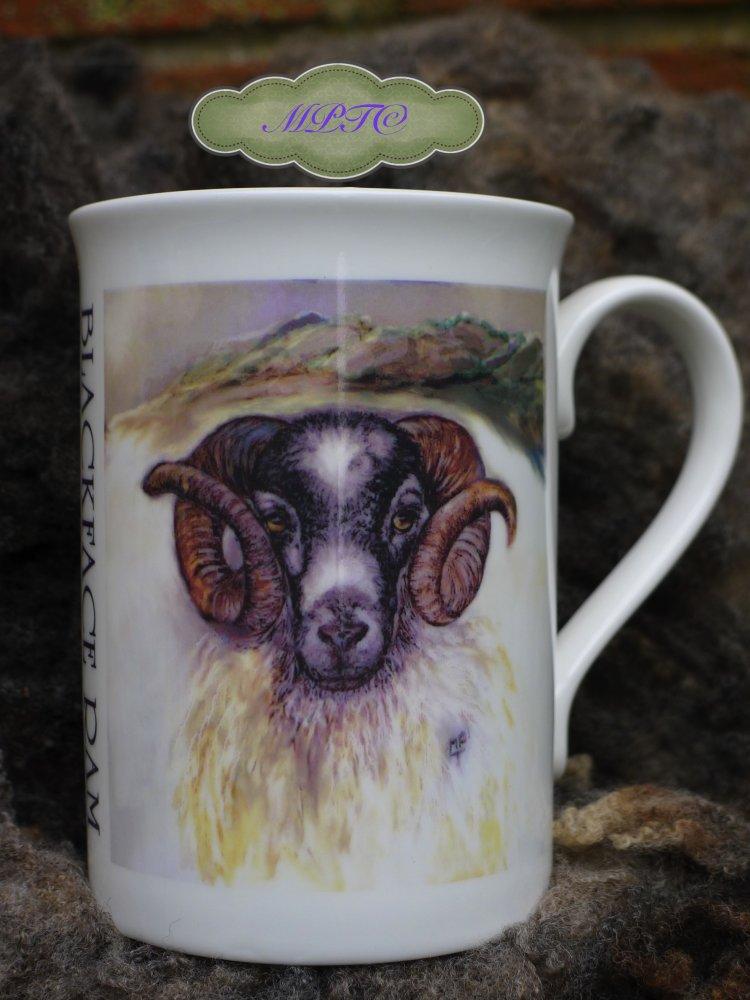 """Blackface Ram"" Printed Mug 7.99 + £5. P&P"