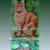 Cat Portraits in Oil Paint.