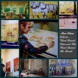 """Murals and Paintings onto wood. Have a chat about """"How to Commission any Mural"""""""