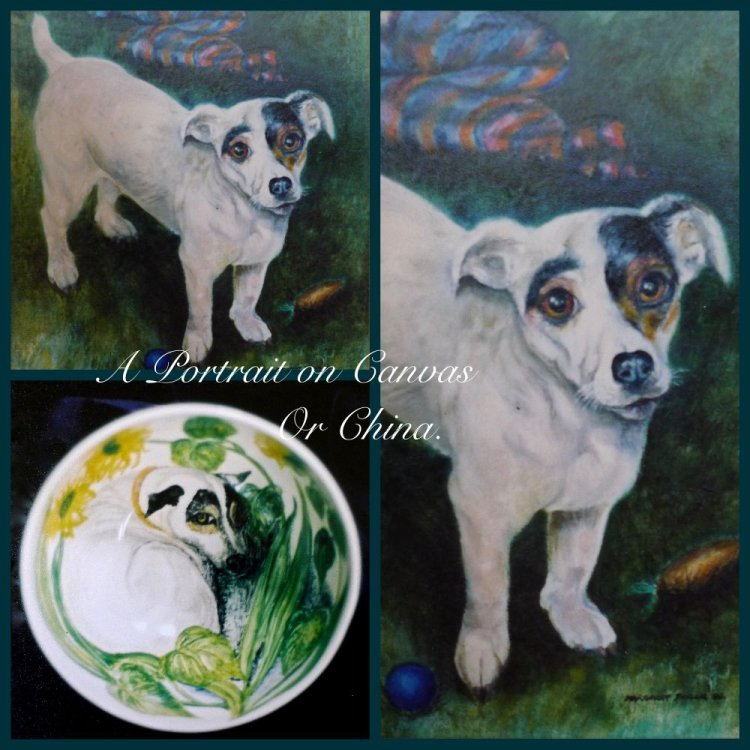 Portraits on Canvas or China