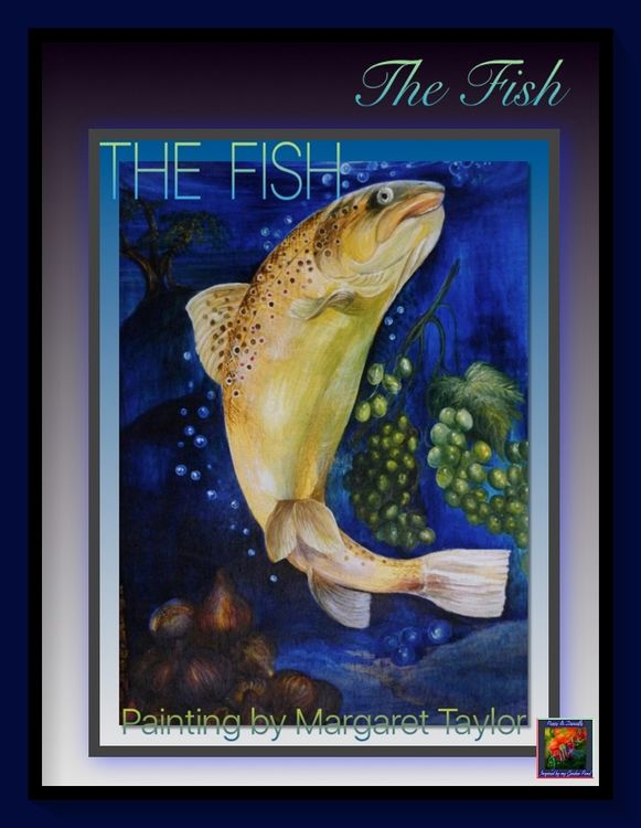 'The Fish' Painting on Drawings and Paintings