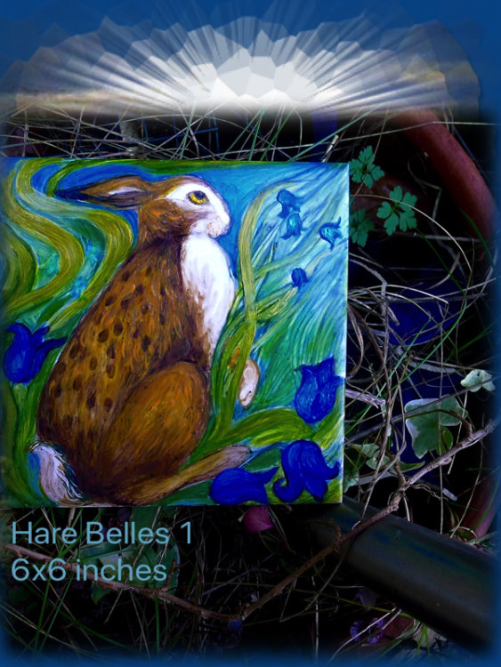 Hare Belles 1. Gallery:TheSpringCollection. £14.99 each £5 P&P