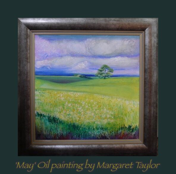 """""""May"""" Oil Painting N.F.S. Prints Available"""