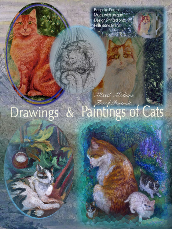 Drawings and Paintings of Cats