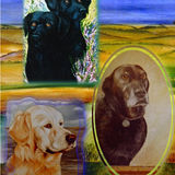 Oil Paintings of Dogs