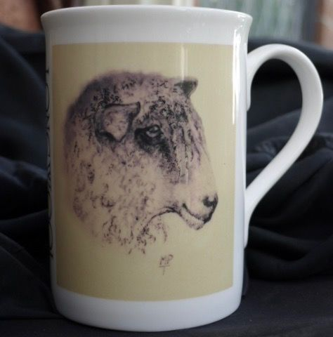 'Longwool' Limited Edition Printed Sheep Mug £7.99