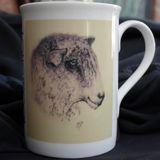 'Longwool' Limited Edition Printed Sheep Mug £7.99