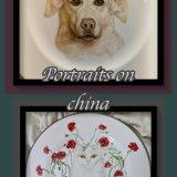 Bespoke Hand Painted China Plates