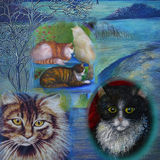 Cats in Art. Your CAT in the Picture.?