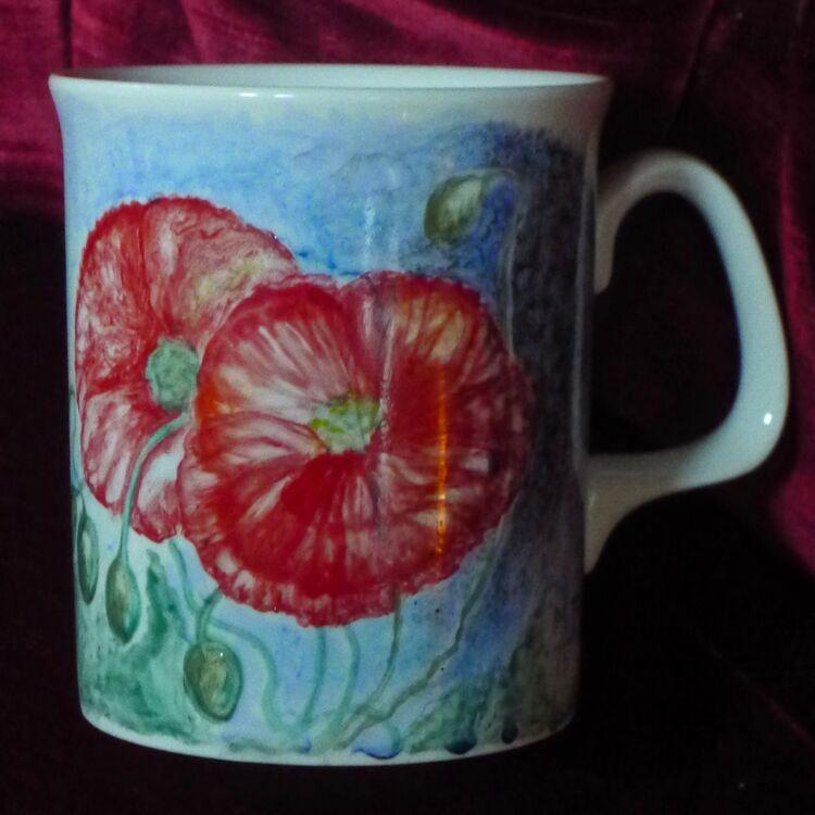 Unique Hand Painted Mug £25.