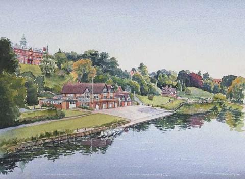 Shrewsbury Boathouse