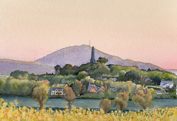 Lilleshall Hill with The Wrekin