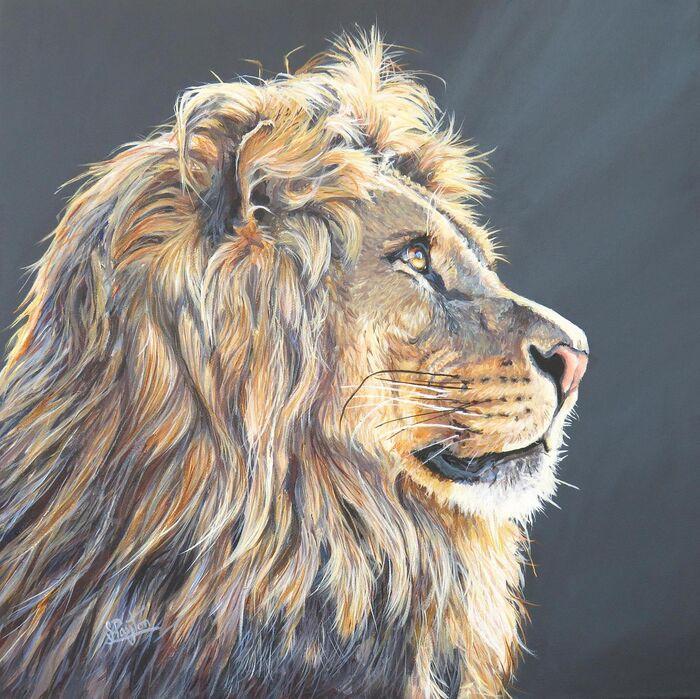 Lion -SOLD