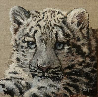 Snow Leopard - SOLD