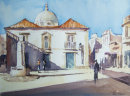 Morning Shadows, Olhao Church