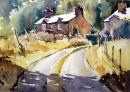 Bright sun, Snowdonia