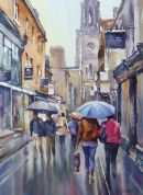 Rainy Day, Bath - SOLD