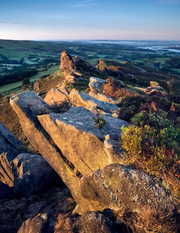 Ramshaw Rocks, dawn