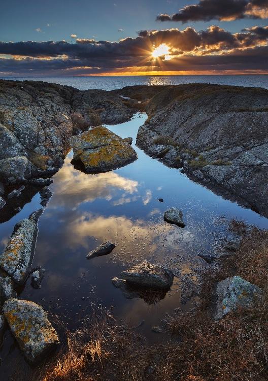 Sunset near Aberffraw, Anglesey