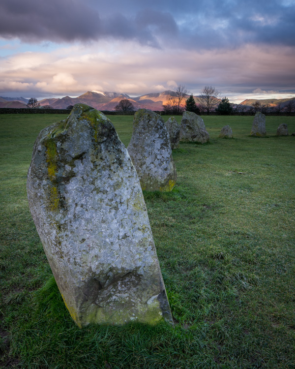 Castlerigg, early morning, November