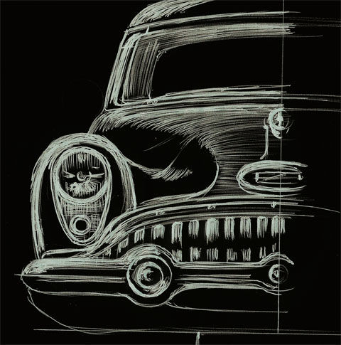 Buick Character Study Front
