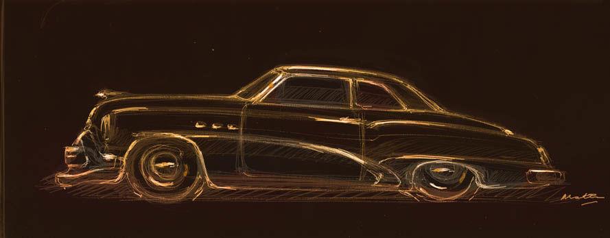 Buick Character Fantasy study