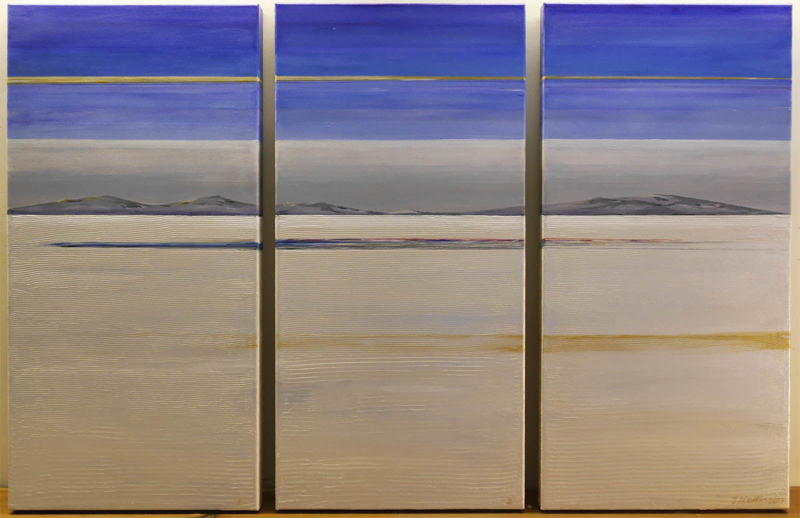 Donald Campbell Triptych