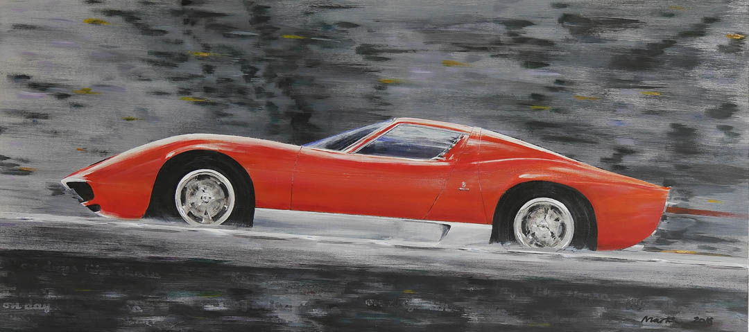 On Days Like these Miura 66 from Italian Job