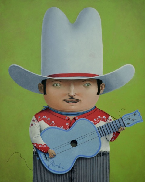 Archie the Singing Cowboy (in progress)