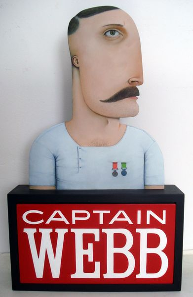 Captain Webb 400mm high
